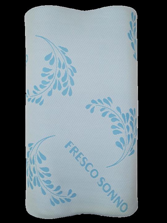 Perna Memory Cervicala DolceNotte, 72 x 42 x 12 cm, cu Husa Detasabila