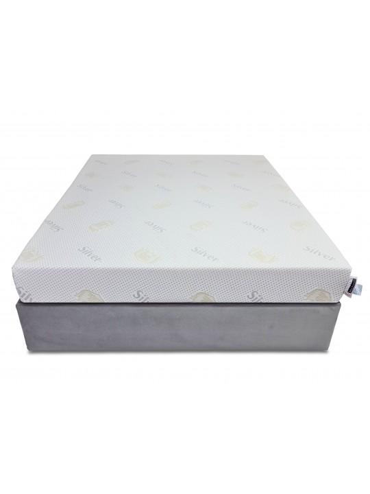 Saltea memory 3 cm, 15+3+1, Ioni de Argint, Dolce Dormire Diamante 3K clasa A, 160x200